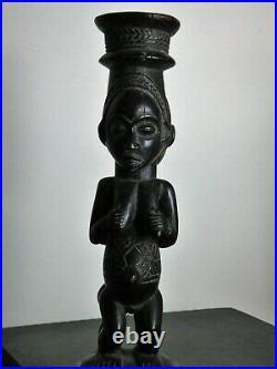 African art africain sculpture statue fetiche masque Luba RDC Congo Zaire Kongo