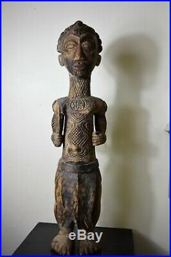 African art africain sculpture statue fetiche masque mask Lualua Congo Zaire