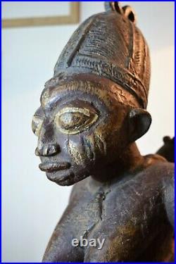 African art africain sculpture statue fetiche masque mask Yoruba Nigeria