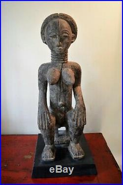 African art africain sculpture statue masque mask Attye Attie cote d'ivoire