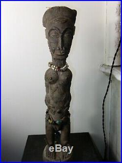 African art africain sculpture statue masque mask Baoulé Baoule cote d'ivoire