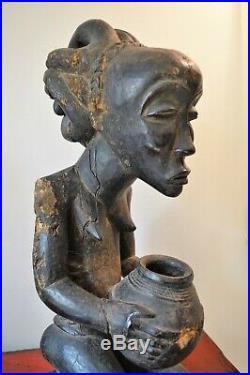 African art africain sculpture statue masque mask Luba RDC Congo Zaire