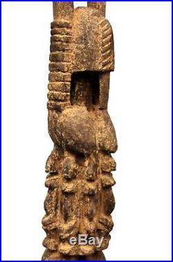 Art Africain African Africano Afrikanische Kunst Statue Tellem Dogon 57 Cms