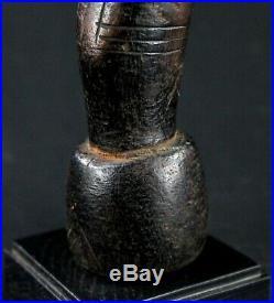 Art Africain African Doll Arte Africana Poupée Mossi sur Socle 34 Cms ++++