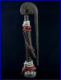 Art Africain African Doll Tribal Art Arte Grande Poupée Mossi d'Autel 50 Cms