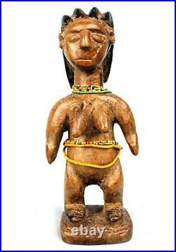 Art Africain Arts Premiers African Fetish Jumelle Ewe Venavi Togo 23 Cms