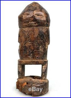 Art Africain Arts Premiers Ancien Fétiche Losso Nord Togo 24 Cms +++++++++