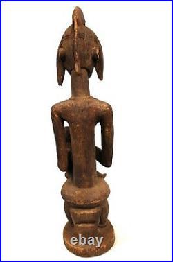 Art Africain Arts Premiers Primitif Ancienne Maternité Dogon 59,5 Cms ++++++