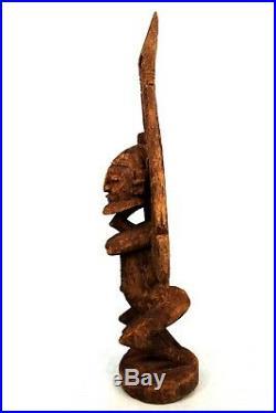 Art Africain Arts Premiers Primitif Ancienne Statue Tellem Dogon 59 Cms ++++