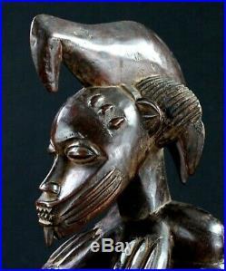 Art Africain Arts Premiers Superbe Statue Maternité Senoufo Senufo 46 Cms