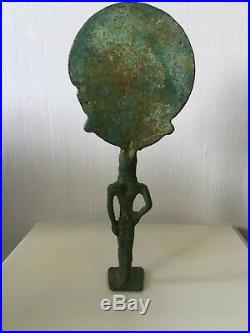 Art Etrusque ou grecque statue / sculpture en Bronze Archéologie ++ Très belle +