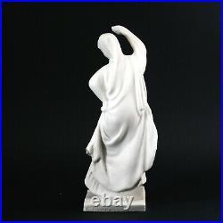 Authentique Tanagra MOUGIN danseuse statue en grès porcelaine Art Nouveau 1900