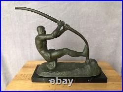 Bronze Art Deco Larcher Georges Gori
