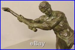 Bronze Art-Déco signé Ouline