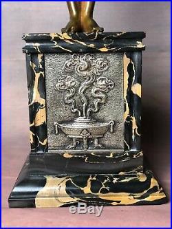 Bronze femme Art déco de Joseph Emmanuel Cormier (1889-1950)