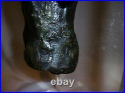 Buste Art Comtemporain Bronze monté sur Pléxiglass signé PICHON E. A