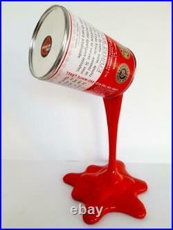 Campbells Soup Cans-Warhol-Marilyne-Sculpture-Pop Art-Splash-Tomato-36cm/1,5kg