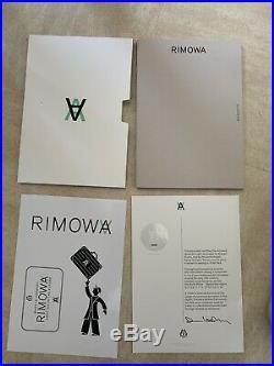 Daniel Arsham X Rimowa Limited Edition #482/500 Eroded Attache Art Piece