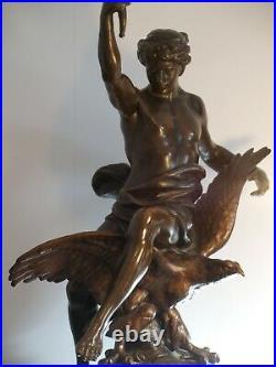 Émile Louis Picault grande statue art nouveau