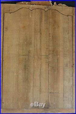 Exceptionnel Tableau Retable Baroque Baptême Christ Valladolid art populaire 17e