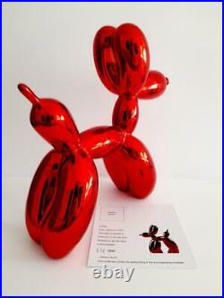 Jeff Koons(d'après)&Editions Studio-Balloon Dog-Rabbit-Sculpture-Pop Art-Design