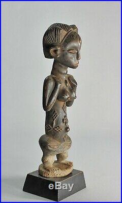 Jolie Statue LUBA Baluba figure Congo African Tribal Art Africain sculpture