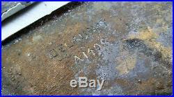Plaques en bronze Art Déco signées DELAUNAY erotiques anciennes