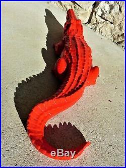 Pop Art-Sculpture-Crocodile-Résine-Design-Street Art(Orlinski-Warhol-Haring) XL