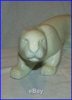 STATUE LIONNE LEMANCEAU ART DECO 1930 Saint clement / lionesss french sculpture