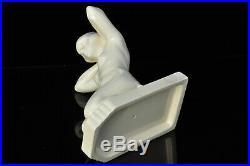 Sculpture Art Déco Faïence femme nue antique statue 1930 nude woman