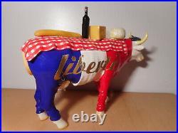 Sculpture allemande design BERNHARD PRINZ ART in the CITY statue vache française