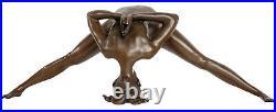 Sculpture en bronze érotisme art style antique statue 32cm