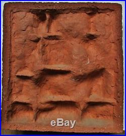 Sculpture statue BasTerre cuite ART DÉCO moderniste Femme artiste à identifier