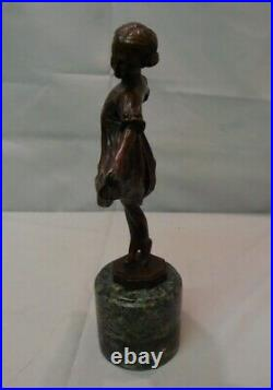 Statue Sculpture Danseuse Classique Opera Style Art Deco Style Art Nouveau Bronz