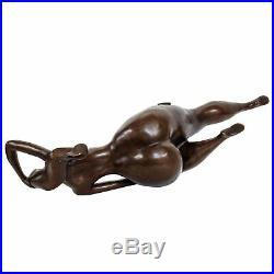 Statue érotique l'art de bronze sculpture figurine 31cm
