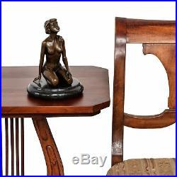 Statue femme érotisme art de bronze sculpture figurine 22cm