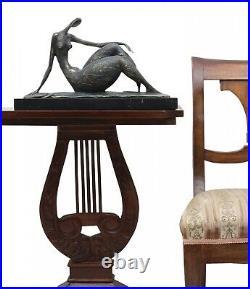 Statue femme l'érotisme l'art de bronze sculpture figurine 44cm