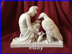 Statue homme nu erotique / Modern Art Sculpture Nude man body statue