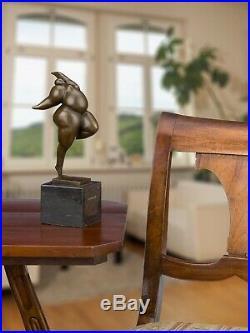 Statue l'érotisme l'art de bronze sculpture figurine 26cm