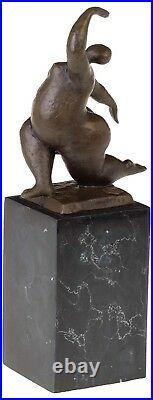 Statue l'érotisme l'art de bronze sculpture figurine 30cm