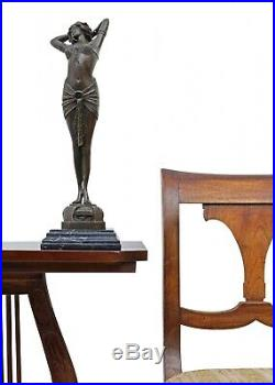 Statue l'érotisme l'art de bronze sculpture figurine 42cm