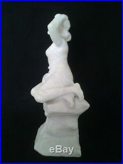 Télémaco CIPRIANI, magnifique buste art Nouveau en taille directe. ITALIE