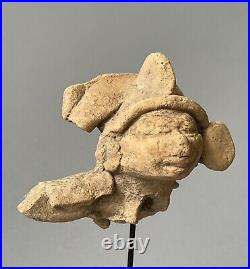Tête de shaman Totonaque Mexique 450 à 650 Ap-Jc art précolombien precolumbian