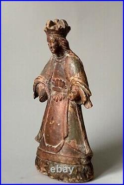 Vierge couronnée les Philippines 18ème siècle art religieux dAsie du Sud Est